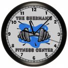 Personalized Fitness Exercise Wall Clock