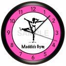 Personalized Aerobics Wall Clock Pilates Workout Gym