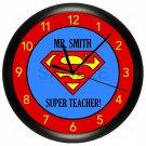 Super Teacher Wall Clock