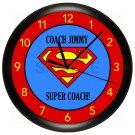 Super Coach Wall Clock