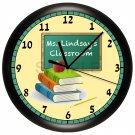 Apple Teacher Wall Clock