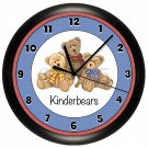 Personalized Teddy Bears Wall Clock