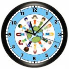 Children Around the World Wall Clock