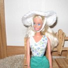 White garden hat for Barbie