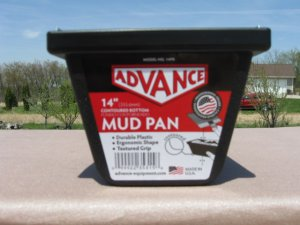Advance Mud Pan NEW 14""
