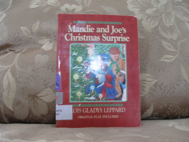 Mandie and Joe's Christmas Surprise  ISBN # 0 - 7642 - 2414 - X