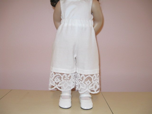 """AMERICAN GIRL18"""" DOLL CLOTHES PANTALOONS, BLOOMERS MARIE GRACE, CAROLINE, LIFE OF FAITH"""