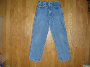 Legendary Gold Size 14 Regular  medium blue denim Boys 5 pocket jeans Straight leg