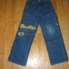 4 DA STREET BOY'S SIZE 12 MEDIUM BLUE DENIM CARPENTER JEANS URBAN BROOKLYN BACK TO SCHOOL
