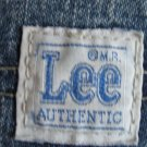 Lee 1889 Size 14 Regular medium blue denim  5 pocket jeans Straight leg