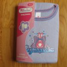 Girl Connection Size 10 lavender long janes 2 pc underwear set NEW in package  Gymnastics design