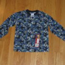 GARANIMALS BOYS SIZE 6 LONG SLEEVE KNIT TOP WITH MILITARY PRINT NEW WITH LABEL