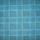 Turquois & black houndstooth print FABRIC FOR McCall's 6480 SKIRT C: 5/8 of a yard Plus tulle