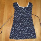NO BOUNDARIES SIZE 4/5 navy print dress Short sleeve Girl's clothes