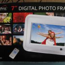 7 Inch Digital Photo Frame by Super Sonic  SC-7001 - New in Box