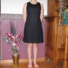 BYER TOO ADULT SIZE 5 BLACK MUSIC RECITAL PERFORMANCE OR PARTY DRESS SLEEVELESS EVENING WEAR