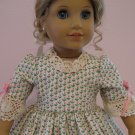 "AMERICAN GIRL FELICITY, ELIZABETH 18"" DOLL CLOTHES COLONIAL DRESS PERFECT!  LIFE OF FAITH"