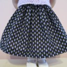 "LIFE OF FAITH 18"" DOLL CLOTHES AMERICAN GIRL REBECCA, MOLLY LAVENDAR TULIP PRINT SKIRT"