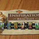HEMATITE INSPIRATION BRACLET NEW IN PACKAGE STRETCHES ON
