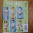 "McCall's 6573 DAISY KINGDOM, AMERICAN GIRL 18"" DOLL CLOTHES PATTERN NEW 1930's DRESSES, BLOOMERS"