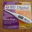 BD DIGITAL THERMOMETER NEW IN PKG NO GLASS MERCURY FREE