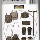 BUTTERICK B 5371 SIZE S,M,L HISTORICAL RENAISSANCE WRIST BRACERS, CORSET, BELT AND POUCHES NEW UNCUT