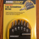 MAXCRAFT 7 PIECE POCKET SCREDRIVER SET NEW in package