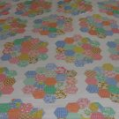 VIP CRANSTON PRINTWORKS 1940'S VINTAGE FLOWER GARDEN PRINT CHEATER QUILT 1.5 YARDS NEW HEIRLOOM