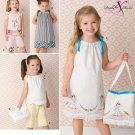 SIMPLICITY 2391 GIRL'S PILLOWCASE DRESS & BAG SEWING PATTERN NEW & UNCUT SIZE 3 - 8