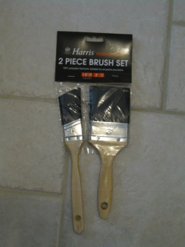HARRIS TASKMASTERS 2 PIECE PAINT BRUSH SET  NEW
