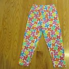GIRL'S SIZE 4 / 5 CLASSIC LEGGING MULTI FLORAL PRINT