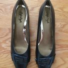 SOFT STYLE HUSH PUPPIES WOMEN'S SIZE 10 N SHOES NAVY BLUE PUMPS HEELS OFFICE DRESS NEW