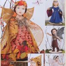 "SIMPLICITY 1134 AMERICAN GIRL 18"" DOLL CLOTHES PATTERN RENAISSANCE MEDIEVAL FAIRY COSTUMES NEW"