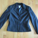 WORTHINGTON STRETCH WOMEN'S SIZE 12 SUIT JACKET BLACK OFFICE CAREER BLAZER