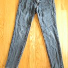 BULLHEAD WOMEN'S SIZE 3 S JEANS MED BLUE ASIAN DENIM SUPER SKINNY ULTRA LOW