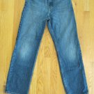 CANYON RIVER BLUES BOY'S SIZE 16 (27 X 28 1/2) DARK BLUE DENIM JEANS CLASSIC RISE