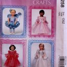 "McCALL'S MP258 AMERICAN GIRL 18"" DOLL CLOTHES PATTERN RENAISSANCE, FAIRY NEW"
