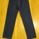 POLO RALPH LAUREN WOMEN'S SIZE 10 X 30 1/2 DARK BLUE DENIM STRAIGHT LEG SATURDAY