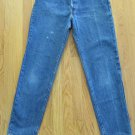 LEVI'S 17 501 WOMEN'S JUNIOR'S SIZE 11 JEANS BUTTON FLY STONE WASHED VINTAGE CLASSIC MOM DISTRESSED