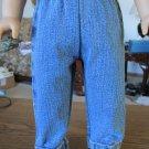 """AMERICAN GIRL 18"""" DOLL CLOTHES DENIM BLUE JEANS BOY LOGAN, TENNEY SKINNY MODERN DAISY KINGDOM NEW"""
