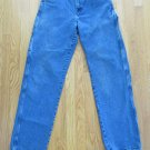 DICKIES MEN'S SIZE 32 X 33 JEANS MED. BLUE DENIM 7 POCKET CARPENTER FARM WORK PAINTERS CONSTRUCTION