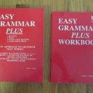 EASY GRAMMAR PLUS GR 7-12 TEACHER & STUDENT WORKBOOK SET ISBN 0-936981-13-X  HOMESCHOOL PHILLIPS