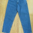 TOMMY HILFIGER MEN'S SIZE 32 X 30 JEANS STONE WASHED FREEDOM SPELLOUT LOGO 90's