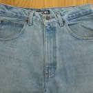 CHEROKEE MEN'S SIZE 30 X 30 JEANS LIGHT BLUE STONE WASHED 80'S TAPERED LEGS