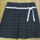 CAROLINA BLUES GIRL'S SIZE 16 SKIRT BLACK & PINK PLAID MINI PLEATED BOW