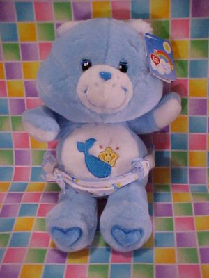 Care Bears BABY TUGS Plush 10in NWT