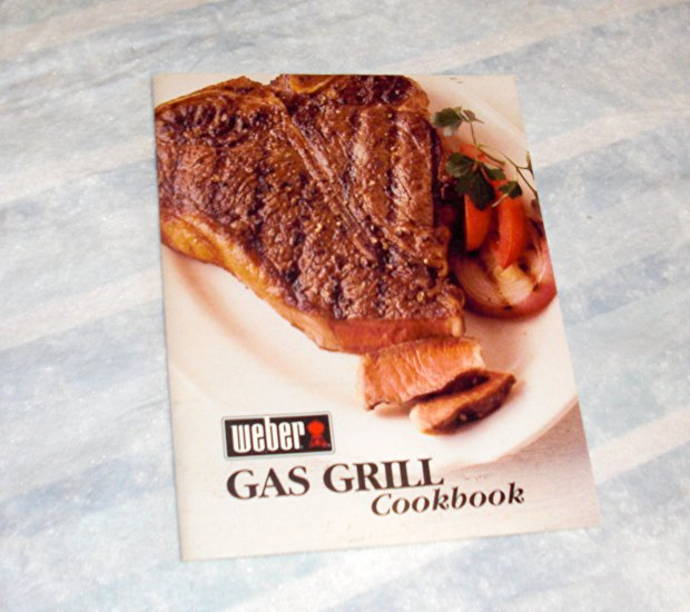 Weber Gas Grill Cookbook - 2002.  Never Used