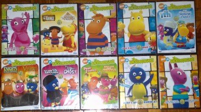 THE BACKYARDIGANS Lot of 10 DVD 20 Episodes NEW! SEALED