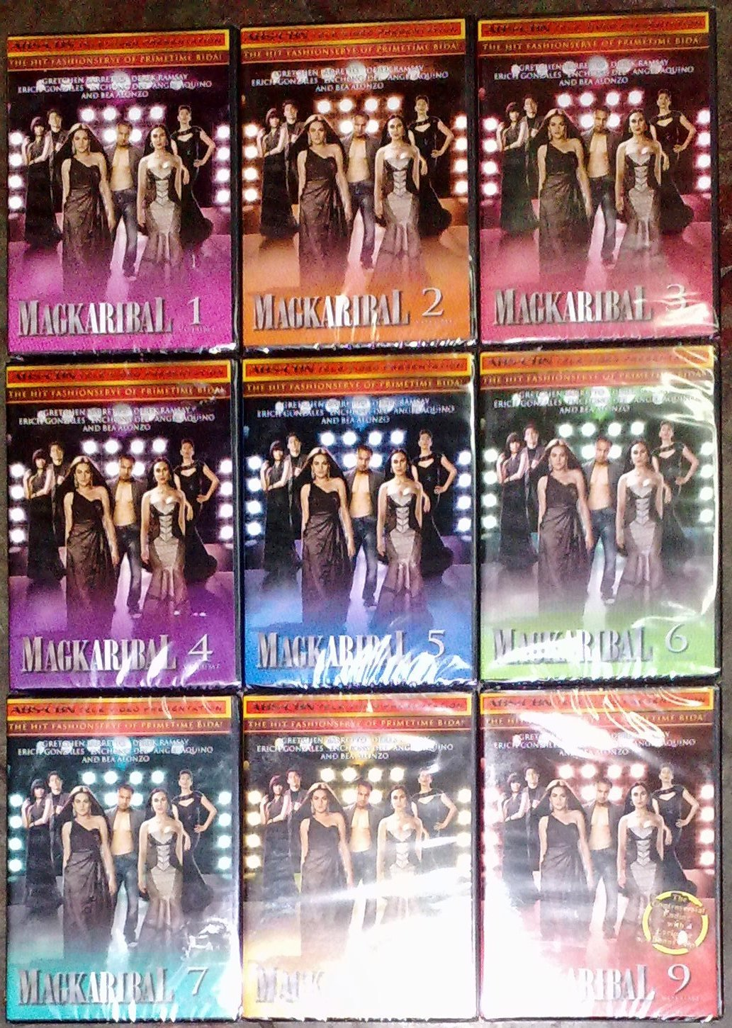 MAGKARIBAL DVD Complete Set vol 1 - 9 Gretchen Barretto