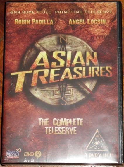 ASIAN TREASURES DVD Complete Limited Ed Box Set Tagalog